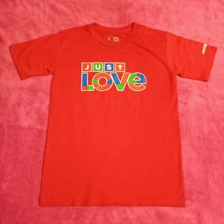 Authentic Just Love Shirt