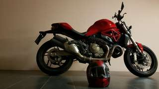 (FIRESALE) MINT DUCATI 821 MONSTER