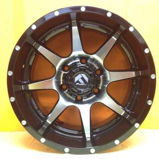 17inch SPORT RIM 4x4 FUEL D537 OFFROAD FORGED WHEELS