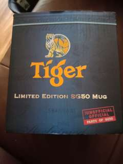 Limited Edition Sg Tiger Mug