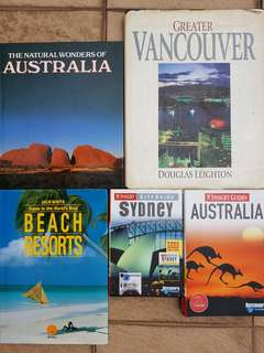 Cheap good books to let go Australia Vancouver travel guide