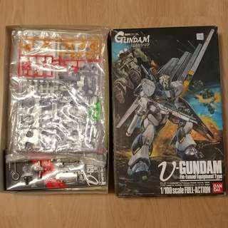 Nu Gundam Fin-Fannel Equipment Type (1/100) (Gundam Model Kits)