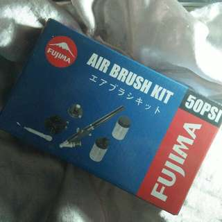 Fujima Airbrush Kit 50PSI