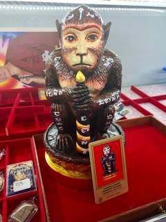 🚚 Lp Anan SUPER RARE Batch Hard To Find Already COLOURED BATCH 9.5INCH TALL General Phaya Wanon(灵猴)BE2558 (C.E2016)^^