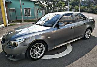 BMW 525I E60 SAMBUNG BAYAR/CONTINUE LOAN MORE DETAILS Klik : wasap.my/+60183626304(AMY)