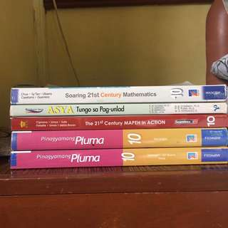 Grade 9 and 10 Textbooks