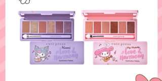 Limited💥My Melody Eyeshadow Palette