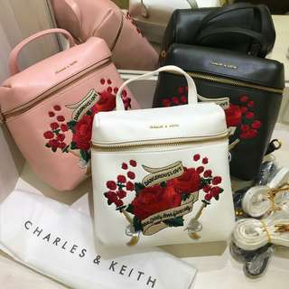 CK BACKPACK EMBEOIDERED