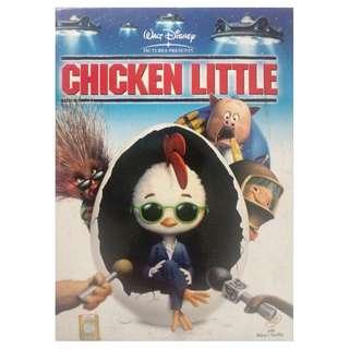 CHICKEN LITTLE DVD
