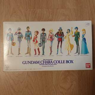 全新未開 Bandai 20th Anniversary - Gundam Chara Colle Box 1/20 Scale 全部人物透明水晶