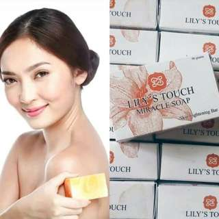 Major discount!!!  4 Lily's touch miracle soap