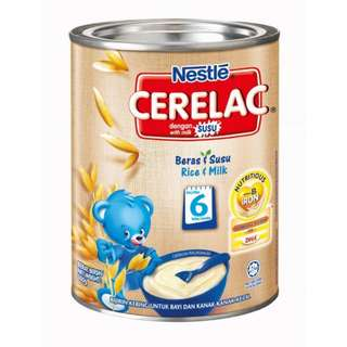 Nestle Cerelac Infant Cereal Rice + Milk 350g
