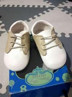 Pitter-Pat Baptismal shoes