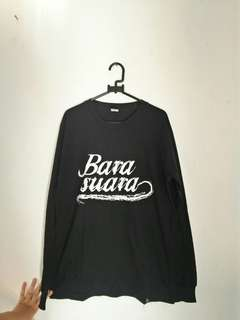 Barasuara Logo Black LS Official Merchandise