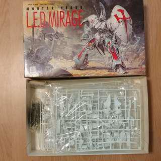 五星物語 最強幻象 Five Star Stories Mortar Headd L.E.D.Mirage 1/100