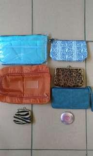 🚚 藍包中包,鞋袋,手拿包,化粧包