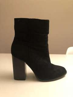 Comfy ankle boots rubi 37 / 7 black