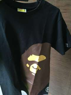 Authentic BAPE Tshirt - APE HEAD TEE
