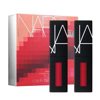 AUTHENTIC NARS NARSISSIST WANTED POWER DUO PACK LIP KIT - HOT REDS LIMITED EDITION SEPHORA 2.8ml (x2)