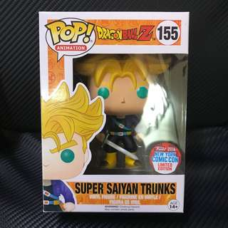 #155 Super Saiyan Trunks NYCC 2016 Exclusive
