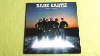 Pding RARE EARTH . band together. Vinyl record