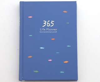(Instock) 365 Days Simplicity Fish Planner