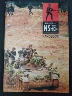 Operationally ready NS men handbook from 90s. Classic