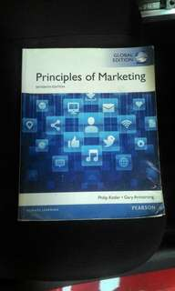 Principles Of Marketing Sixteenth Edition