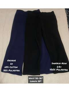 Blue and Black Thick Jogging Pants Bundle of 2