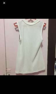 Chic a booti white top