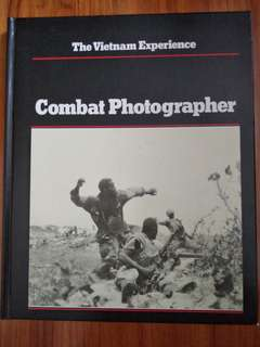 The Vietnam Experience Combat Photographer hardcover book
