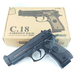⚠TEMPORARY OUT OF STOCK⚠Airsoft BB Gun Beretta M9(C.18)