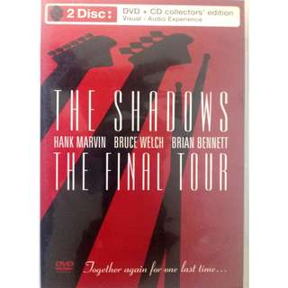THE SHADOWS - THE FINAL TOUR (DVD+CD COLLECTOR'S EDITION)