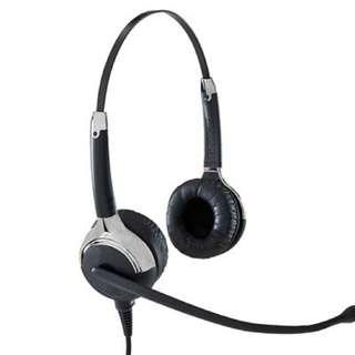 VXi 202768 Passport 21V Over-the-Head Binaural Headset with N/C Microphone
