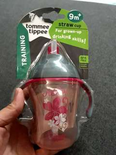 New Tommee 230ml straw cup RM38(pos to SM)