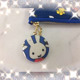 Miffy fabric button