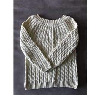 🚚 羅紋毛衣