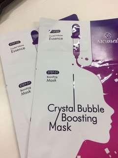 Masker Crystal Bubble Boosting Momeii