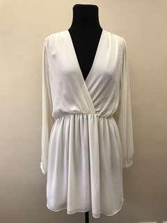 Topshop Cream Dress
