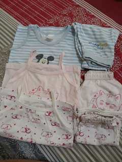 Pre-loved baby clothes 3to6months