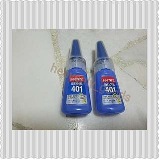 LOCTITE 401 SUPER GLUE/ADHESIVE GLUE/DOUBLE CAPPING SUPER GLUE