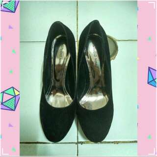 Black Suede High heels STUDIO NINE