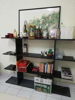 Book shelves rack 4 tier