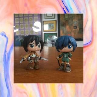 Funko Vinyl Figure Mikasa & Ciel