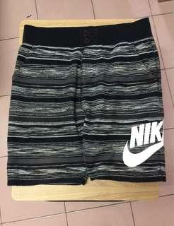 Nike 黑灰 雪花 棉褲