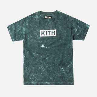 KITH SOLID DYE TEE GREEN (Not Yeezy, off white, Gucci)