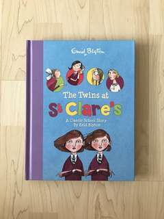 The Twins at St Clare's: A Classic School Story by Enid Blyton (Hardcover)