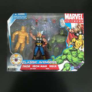 Marvel universe classic avengers pack