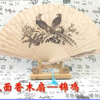 Wooden Fan comes with stand