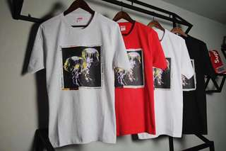 Supreme tee in 4 colors